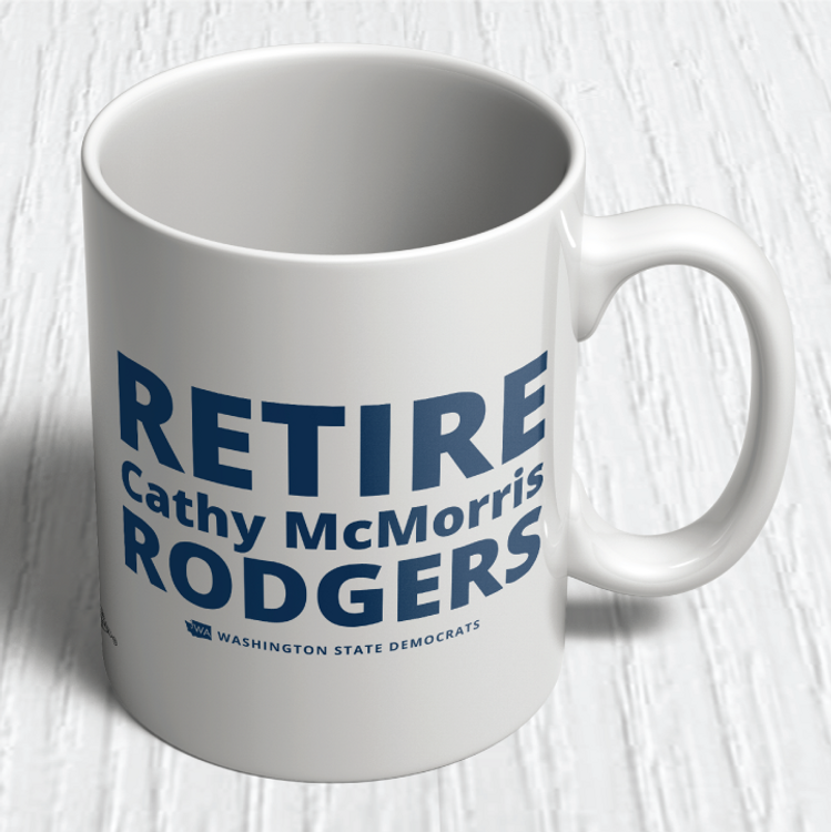 """Retire Cathy McMorris Rodgers""(11oz. Coffee Mug)"