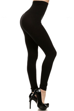 High Waisted Basic Contouring Leggings