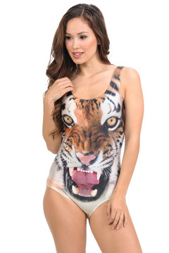 Wholesale Tiger Tease Bodysuit