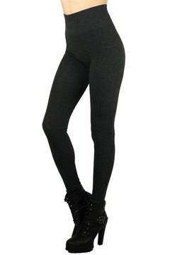 Wholesale High Waisted Heathered Comfy Leggings