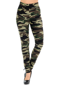 Wholesale Buttery Soft Risky Business Camouflage Pants with Pockets