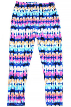 Wholesale Buttery Soft Sassy Summer Tie Dye Kid's Leggings