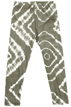Wholesale Buttery Soft Summer Flatter Tie Dye Kid's Leggings