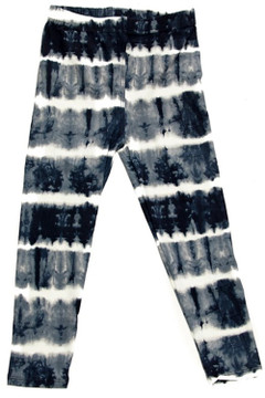 Wholesale Buttery Soft Summer Wrap Tie Dye Kid's Leggings