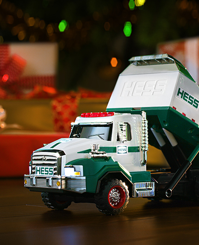 hess toy truck a tradition of collectible holiday toys
