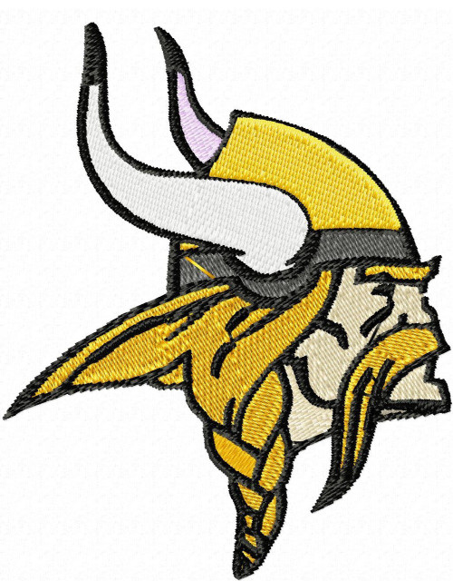 Minnesota Vikings logo NFL University Logo Embroidery Designs Instant Download 4x4 hoop