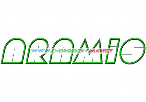 AMIENNE Machine Embroidery Designs Fonts Instant Download