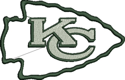 Kansas City Chiefs NFL football Sports Team Machine Embroidery Designs