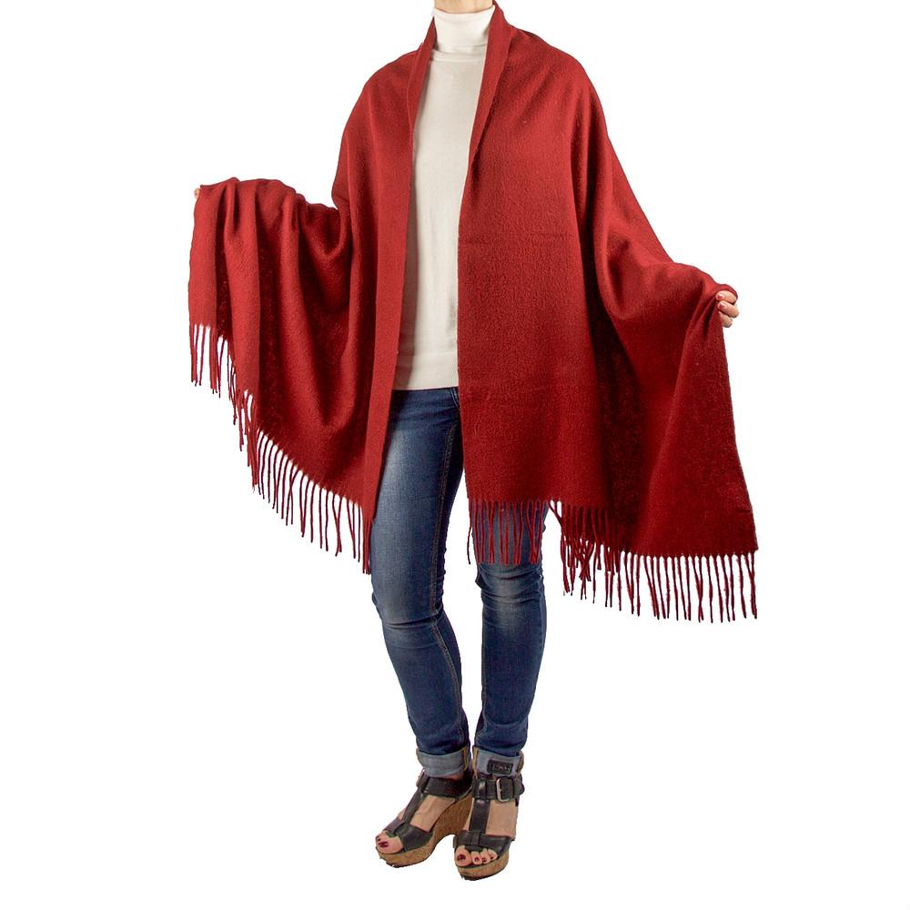 Madison Oversized Cashmere & Wool Blend Scarf