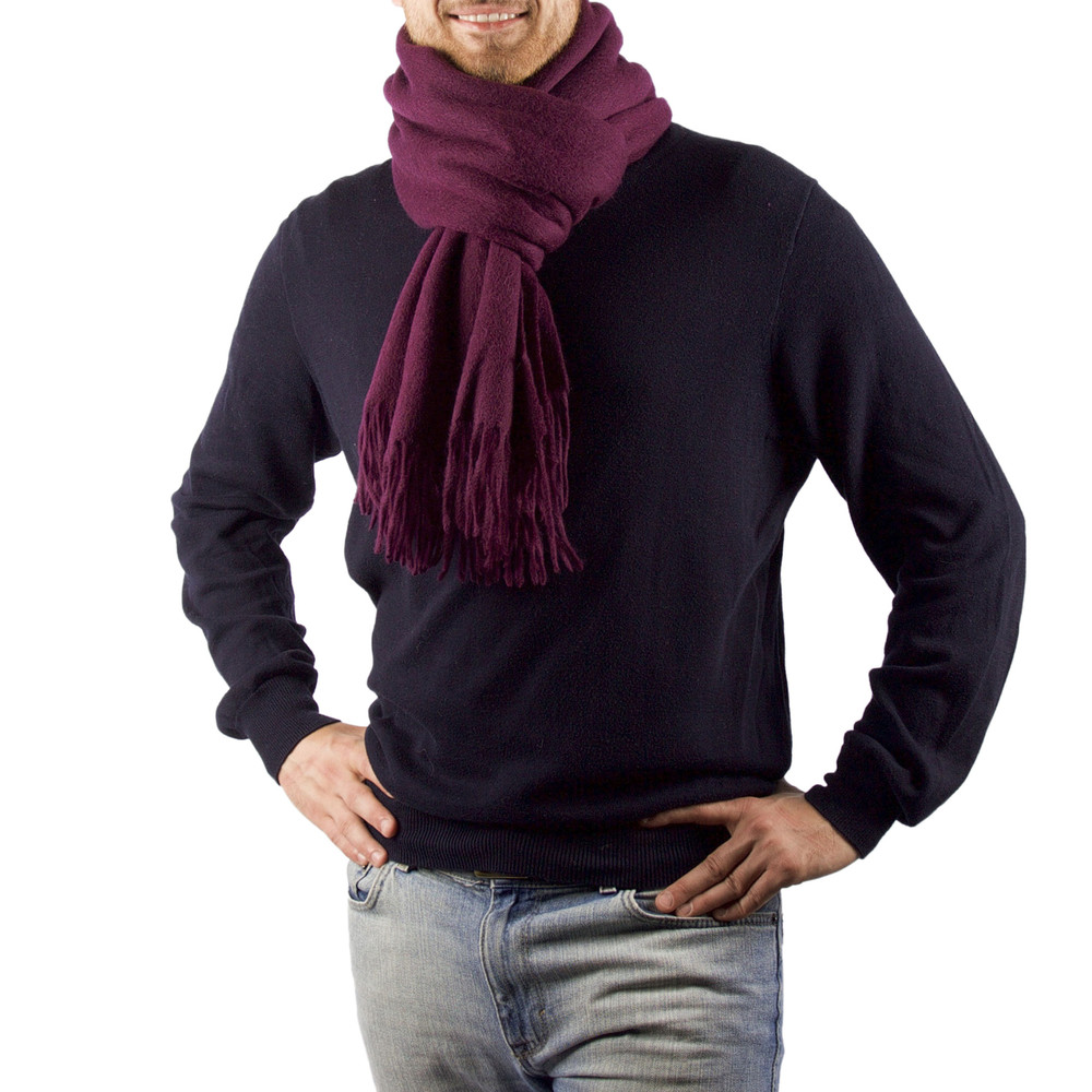 Brook Oversized Cashmere & Wool Blend Scarf
