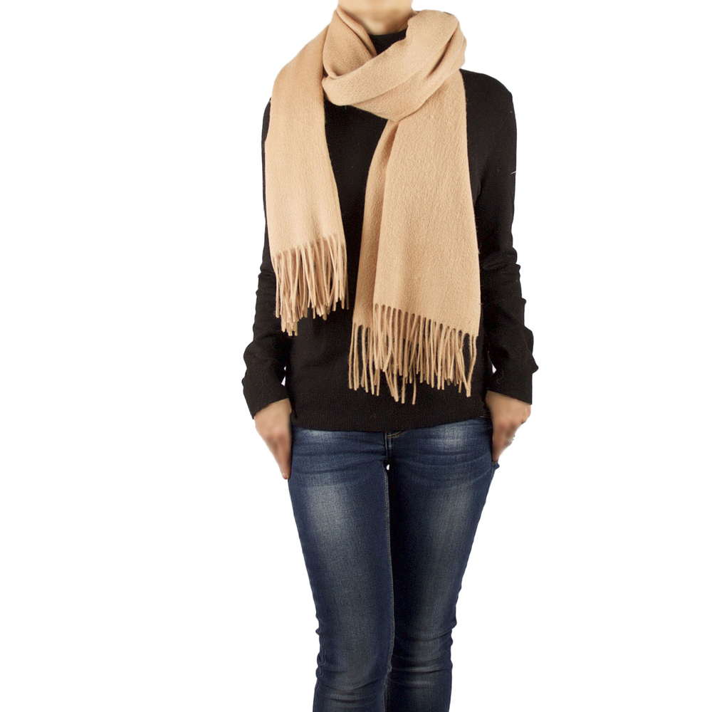 Shura Oversized Cashmere & Wool Blend Scarf