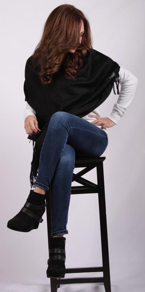 Naomi Cashmere & Wool Blend Wrap
