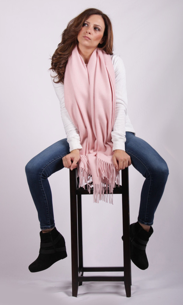 Alita Cashmere & Lambswool Blend Wrap