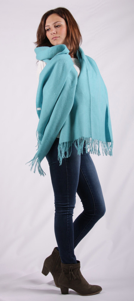 Alanna Oversized Cashmere & Wool Blend Wrap