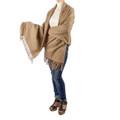 Parker Oversized Cashmere & Wool Blend Scarf