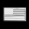 American Flag 3D-CALS 3-D Chrome Plated Plastic Emblem