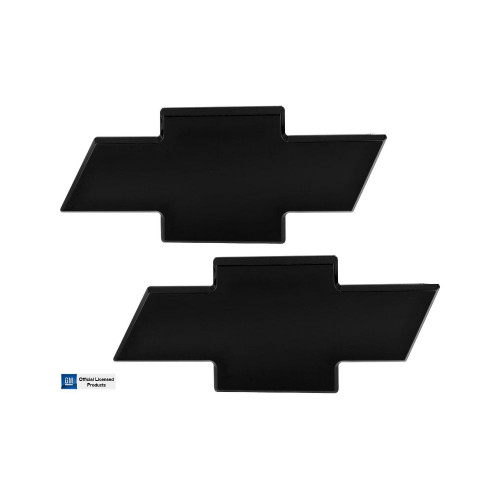 Chevy Bowtie Grille and Tailgate Emblem 2011-2014 Silverado 2500 3500 Combo Front and Rear