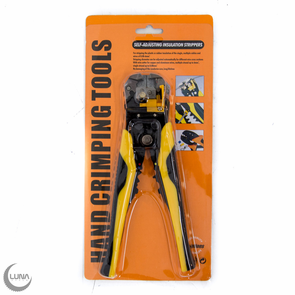 Basic Wire Stripper and Crimpers