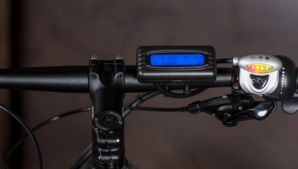 5000 Carbon Fiber Fat with  Luna Cyclone  Drive