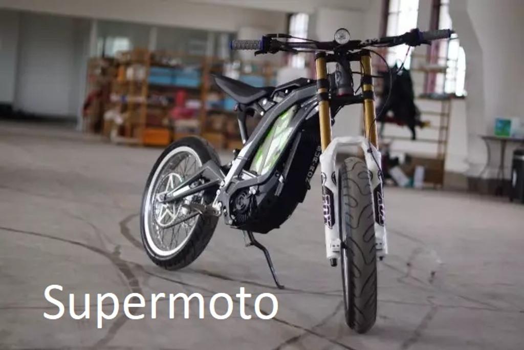 Sur Ron Super Moto Conversion Kit Luna Cycle