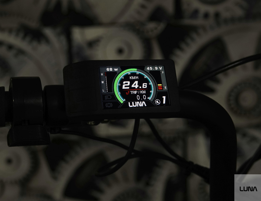 Luna  Mighty Mini Display for BBSHD and BBS02 (upgraded 500c)