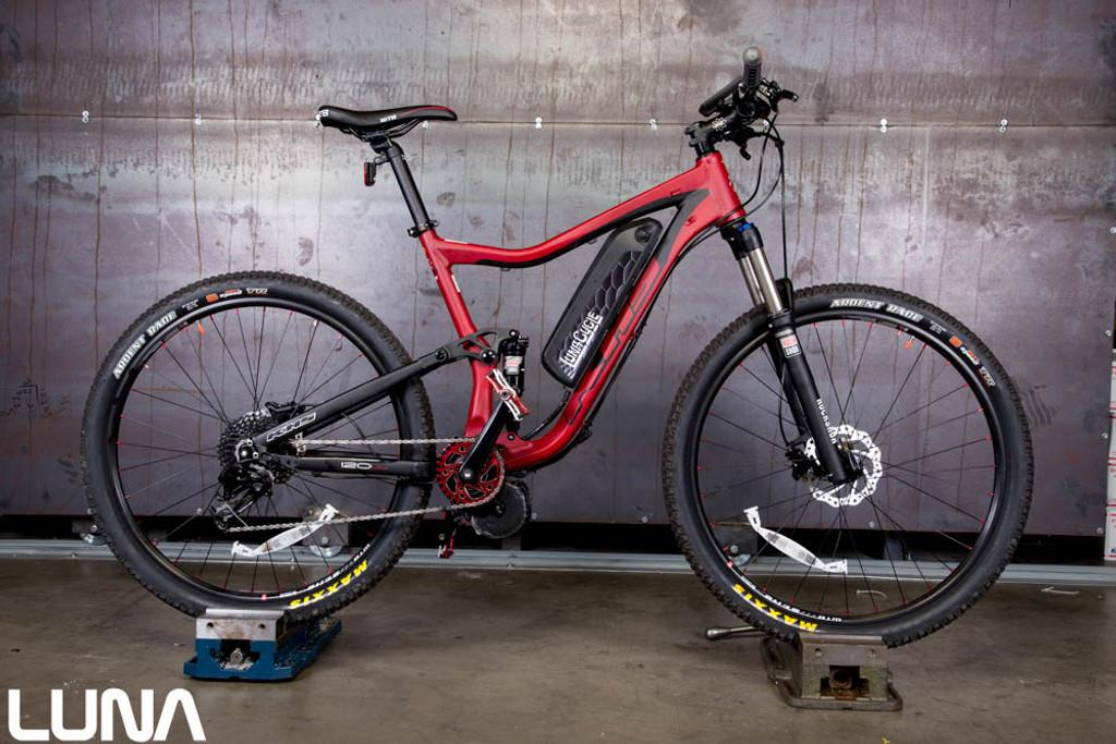 Luna 2016 SixFifty 2500 KHS Mountain ebike - Luna Cycle