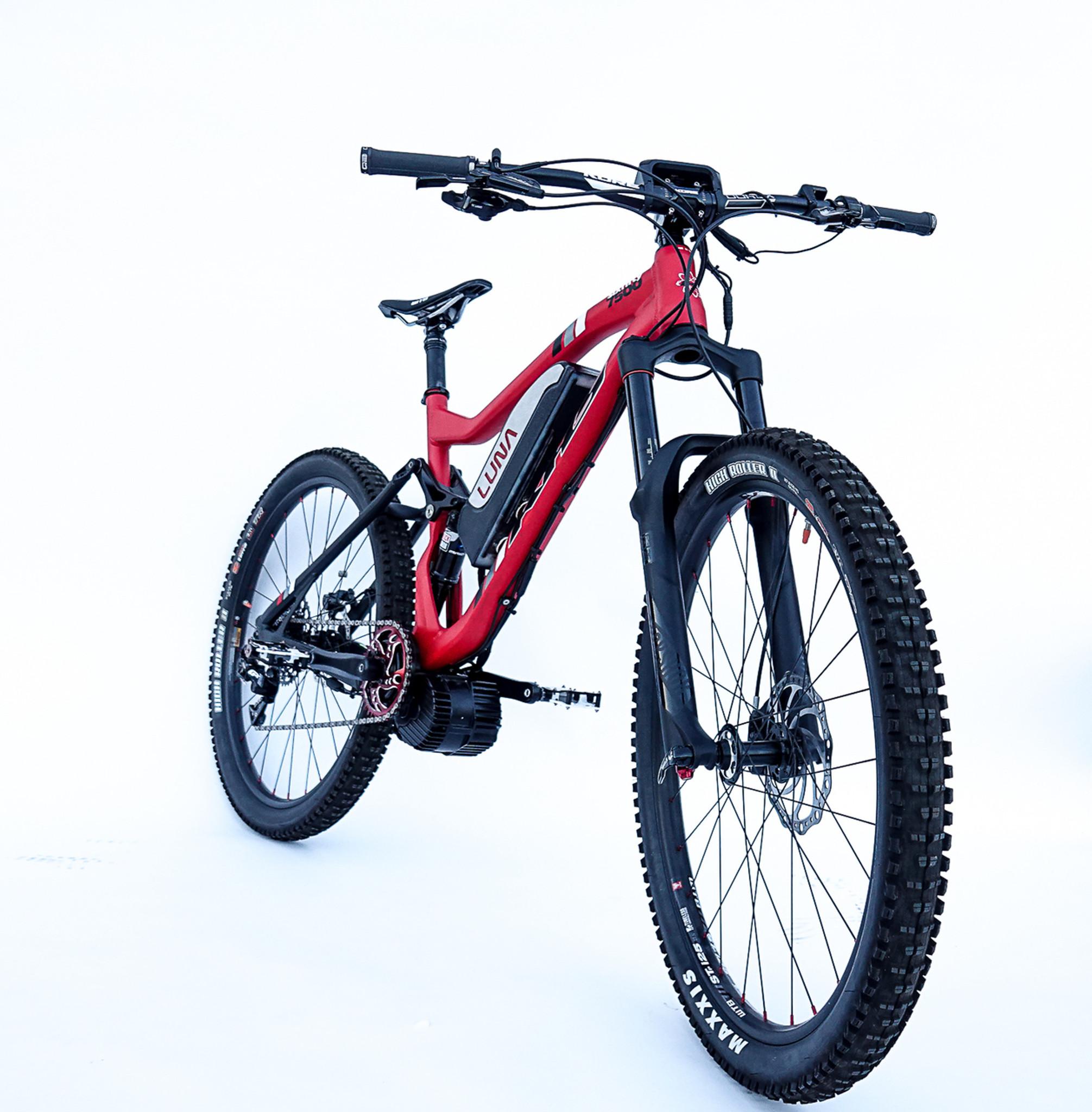 Luna Lone Wolf Full Suspension Electric Bike - Luna Cycle