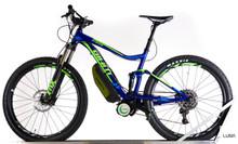 Luna Lone Wolf Stance Full Suspension Electric Bike (M)