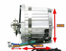 Monster Cyclone XL 7500 watt Mid Drive Kit