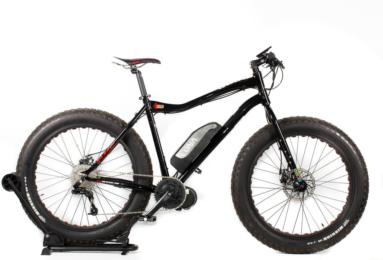 Luna 4 Season 3000 Lone Wolf Fat Tire Bike XL - Luna Cycle