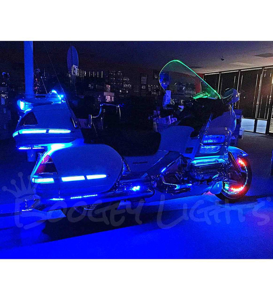 Value Series Multi Color Gold Wing Motorcycle Led Light Kit