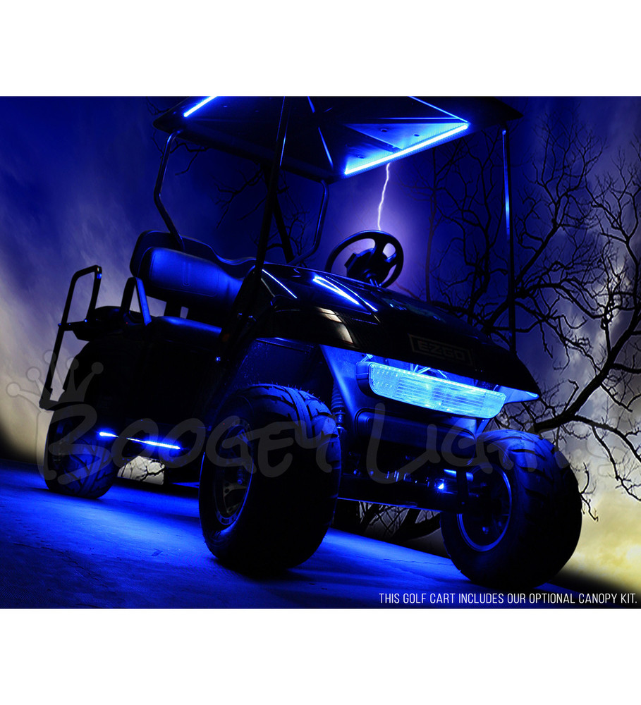 Golf Cart Under-Glow LED Light Kit Electric Golf Cart Light Kits on ezgo light kit, golf cart led light kit, yamaha golf cart light kit,