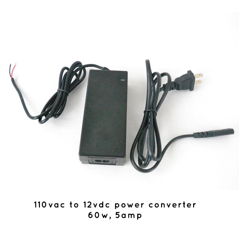 110vac To 12vdc Power Converter 12v Dc Supply 5 Amp