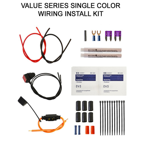 Value Series Single Color Wiring Kit