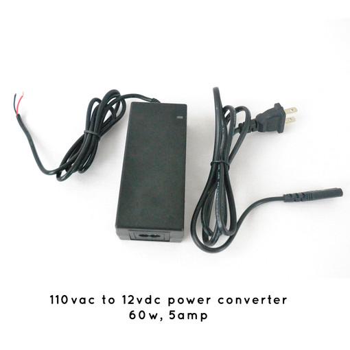 5 AMP 110vac to 12vdc Power Converter