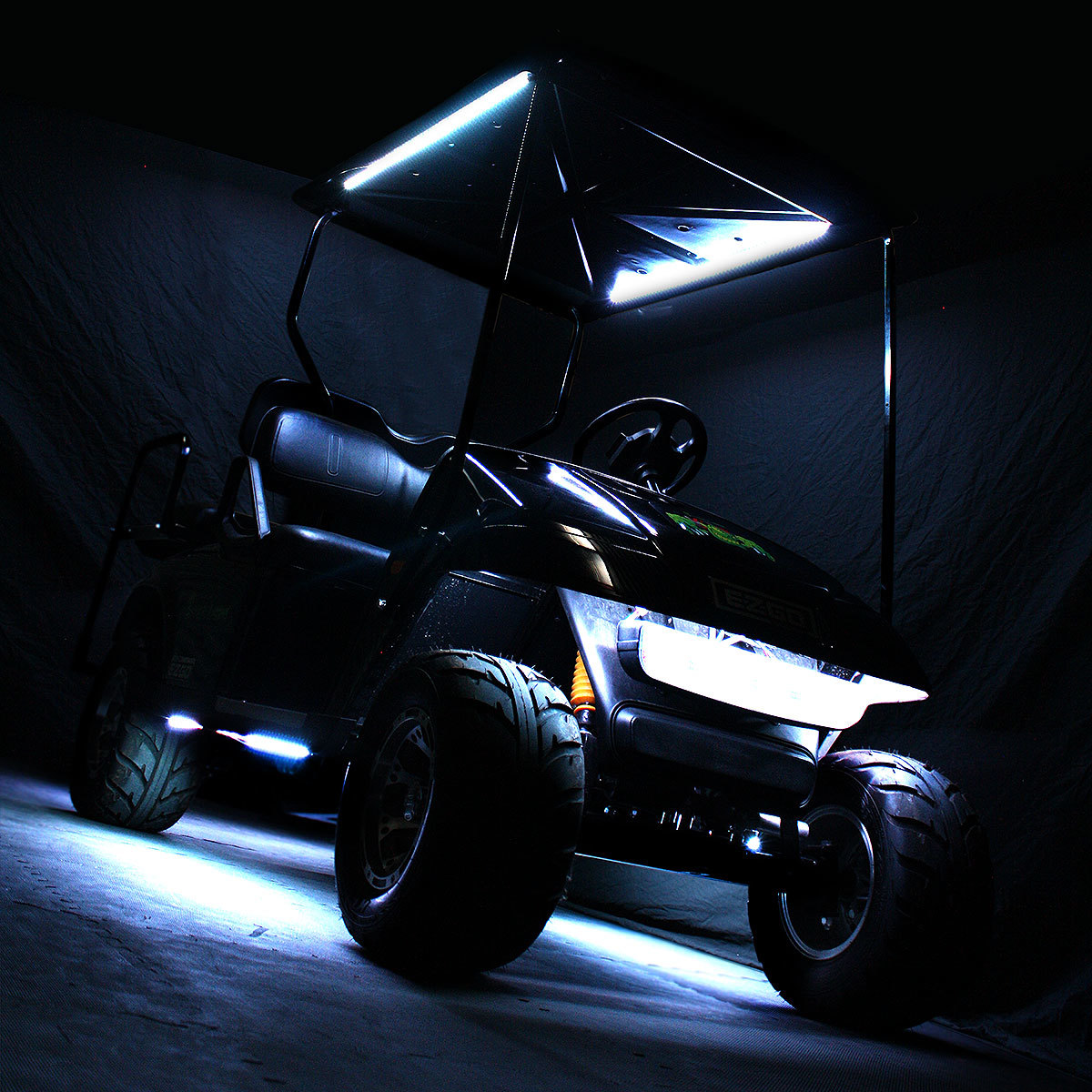Golf Cart Led Light Kits Moto Ez Electric Wire Kit Canopy