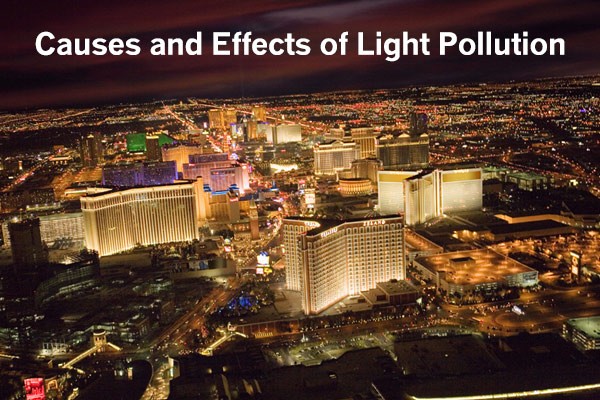 Causes And Effects Of Light Pollution
