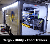 Cargo, Utility Trailer and Food Trucks