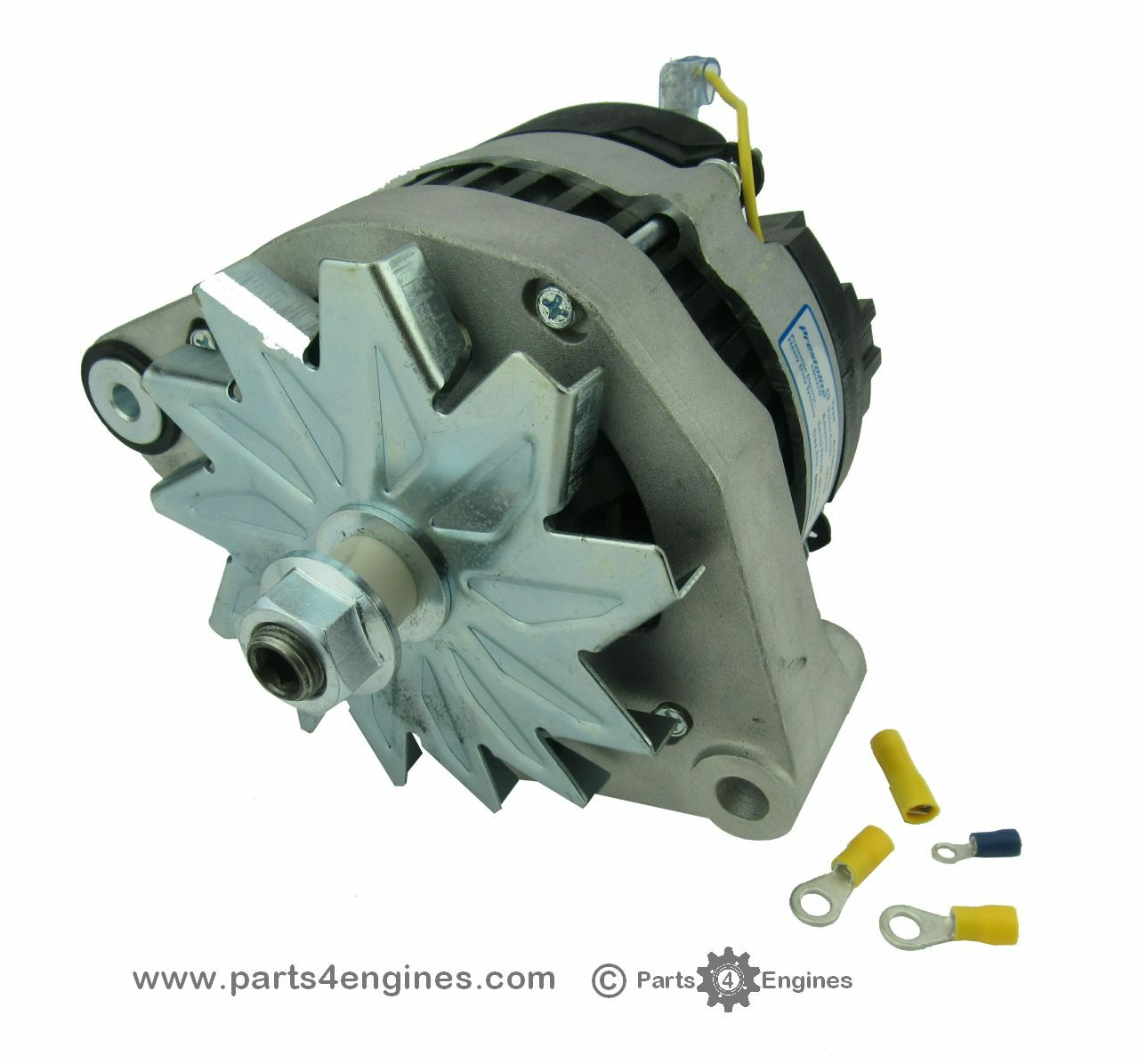 volvo penta md22 isolated earth alternator