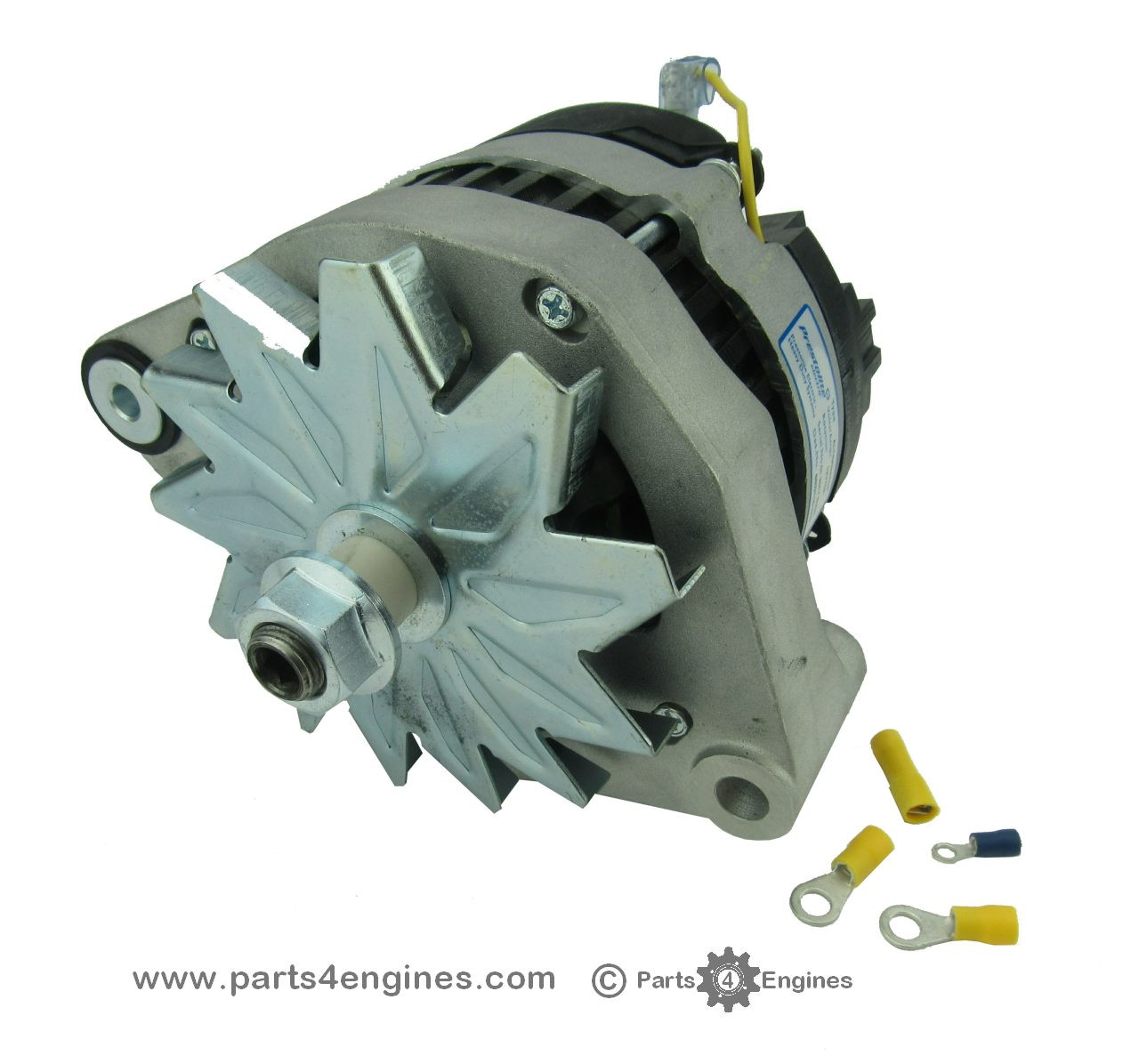 Volvo Penta MD2040 isolated earth Alternator