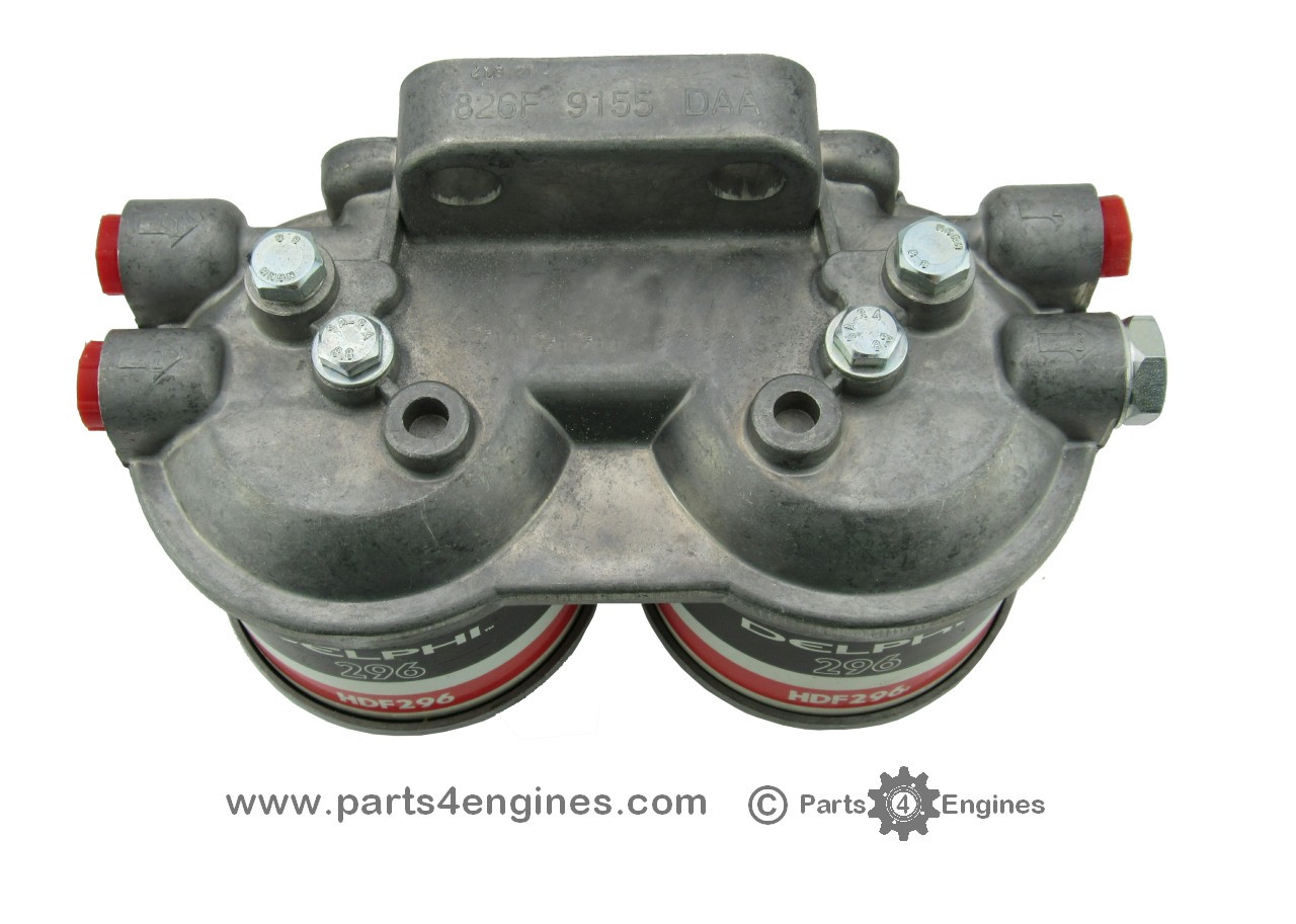 Volvo Penta Md22 Twin Filter Assembly Boat Fuel Location From