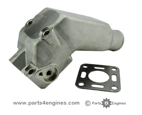 Volvo Penta 2003 Stainless Steel Exhaust pipe elbow from parts4engines.com