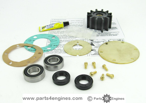 Perkins Prima M60 Raw water pump impeller & service kits from parts4engines.com
