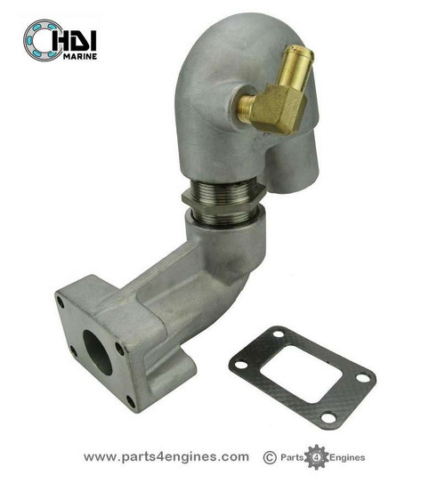 Yanmar 2YM15 Stainless Steel Exhaust outlet - parts4engines.com