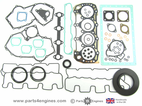 Perkins 100 Series 104.19 Complete Gasket & Seal set - parts4engines.com