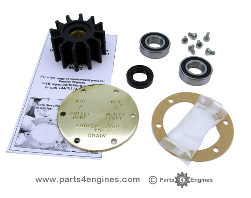 Volvo Penta TMD22 Raw water pump impeller & service kits from parts4engines.com