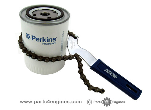 Oil filter chain wrench - parts4engines.com