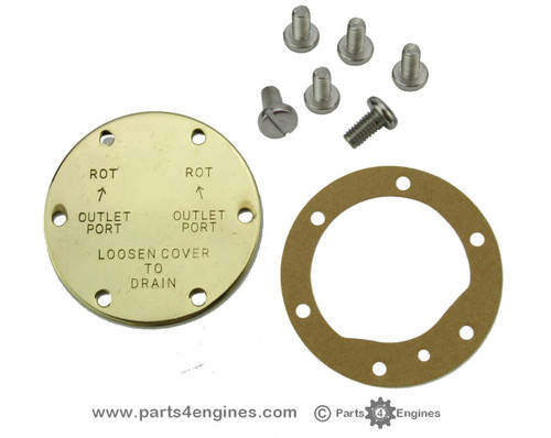 Volvo Penta 2003T raw water pump end cover kit - Parts4engines.com