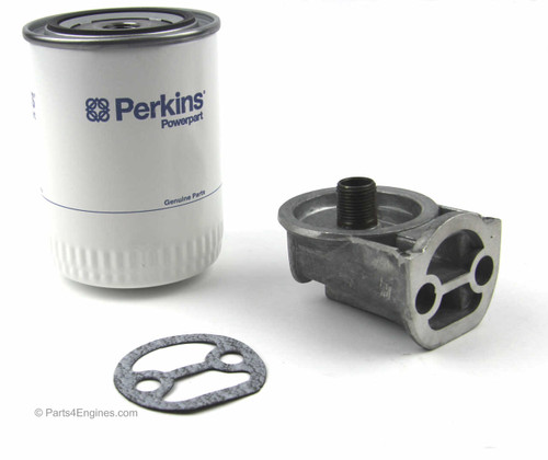 Perkins 4.203 Oil Filter Conversion kit from parts4engines.com