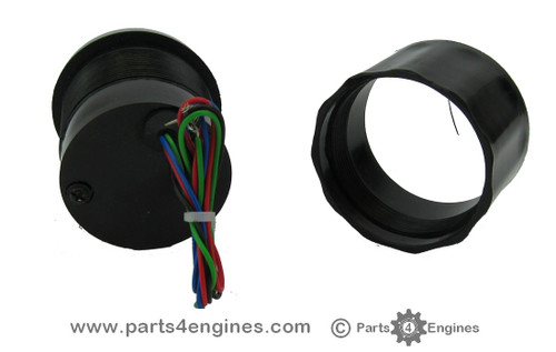 Gauge rear view - Perkins 4.107 Oil Pressure gauge from parts4engines.com
